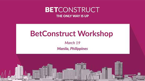 BetConstruct organizes a workshop dedicated to its innovations