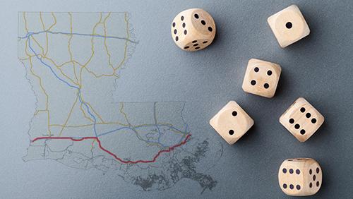 Gambling bills keep Louisiana lawmakers' hands full