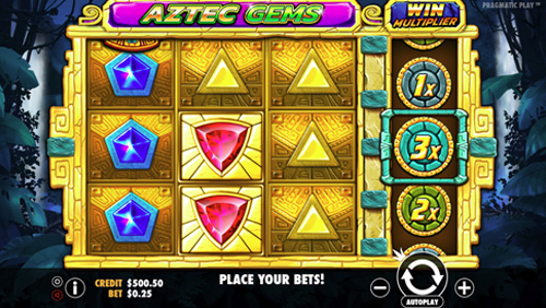 Uncover the wealth of a bygone age in Pragmatic Play's Aztec Gems