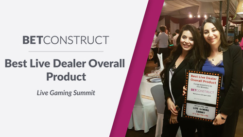 BetConstruct wins at Live Gaming Summit 2018