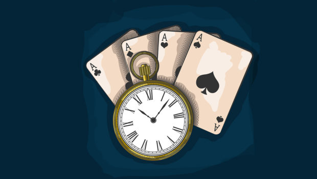 To Hustle or not to hustle: a question for professional poker players