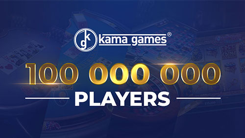 KamaGames celebrates reaching the 100 million players milestone