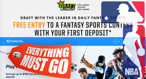 MLB, NBA to sell stakes in daily fantasy ops DraftKings, FanDuel