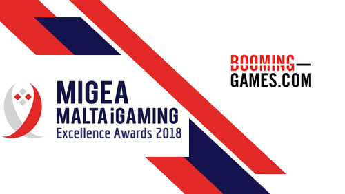 Booming Games achieves Malta's Best iGaming Casino Supplier of the Year Award at the MiGEA MALTA iGaming Excellence Awards 2018.