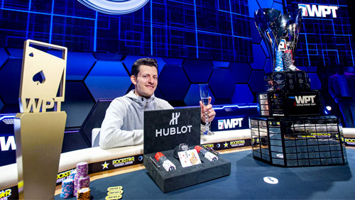 Matt Waxman wins WPT Tournament of Champions; Marchese takes the Bellagio HR
