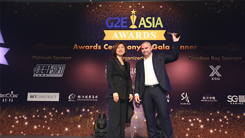 UltraPlay wins best b2b digital product solution at G2E Asia Awards