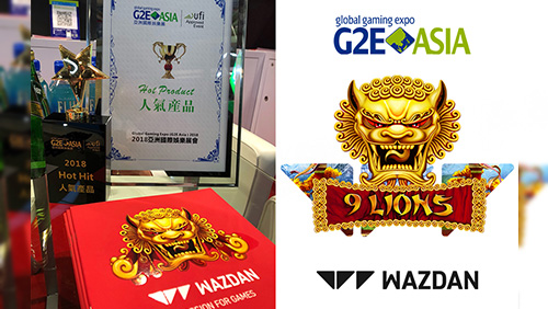 Wazdan continue their amazing success story at G2E Asia 2018
