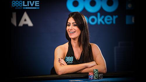 "888Live Barcelona: Vivian Saliba – ""I found myself within poker."""