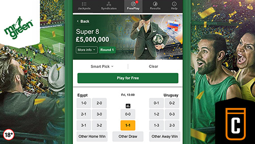 Mr Green launch Colossus sports jackpots with exclusive offering