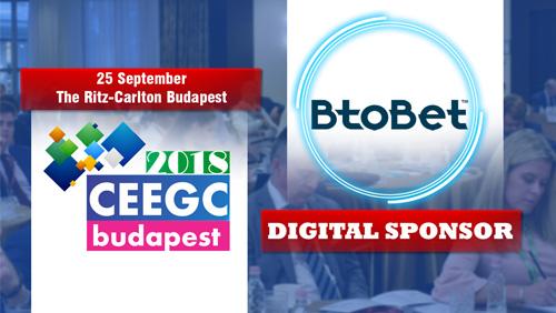 BtoBet becomes Digital Sponsor at CEEGC 2018 Budapest