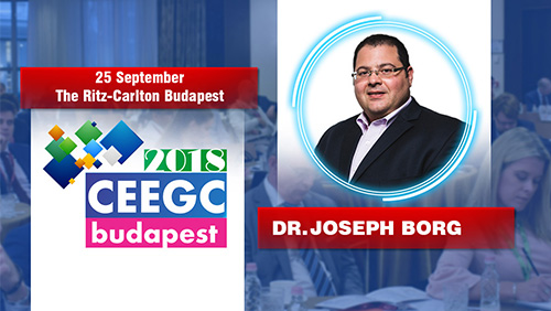 Evolution of technology vs Gambling Regulators panel discussion, moderated by Dr. Joseph Borg at CEEGC2018