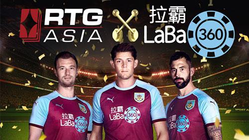 LaBa360.com chooses RTG Asia as Strategic Slots Partner for Asia region