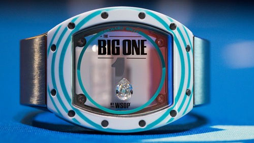 WSOP One Drop: Salomon leads day 1; five unhappy faces leave early