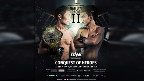 Initial bouts announced for One: Conquest of Heroes