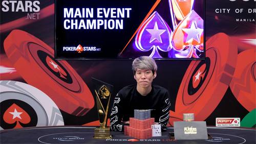 Wilson Lim finds victory at the APPT Main Event