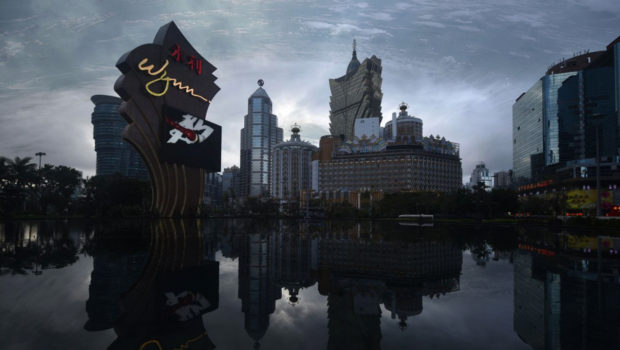The bear finds Macau just in time for tariffs and typhoons