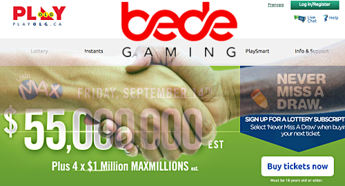 Ontario gambling monopoly picks Bede Gaming for digital update