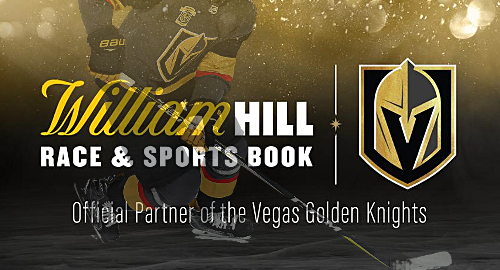 Golden Knights partner with William Hill in NHL betting first