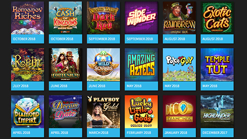 Microgaming content live with Gamesys