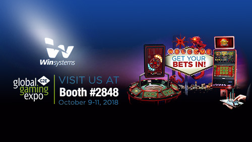 Win Systems triples its presence in G2E Las Vegas 2018 to showcase impressing new launches