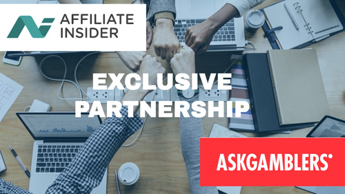 AffiliateINSIDER secures exclusive media partnership for AskGamblers Awards