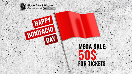 Blockchain revolution is here: in honor of Bonifacio Day, tickets to the Philippines' major blockchain conference at half price