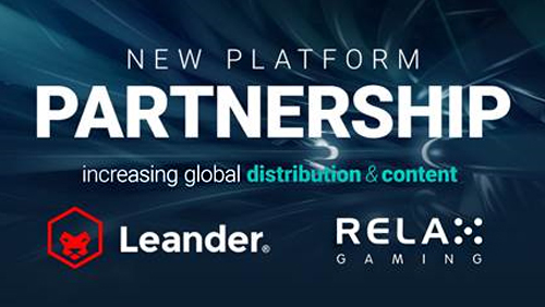 Relax Gaming and Leander Games drive aggregation strategy with collaboration