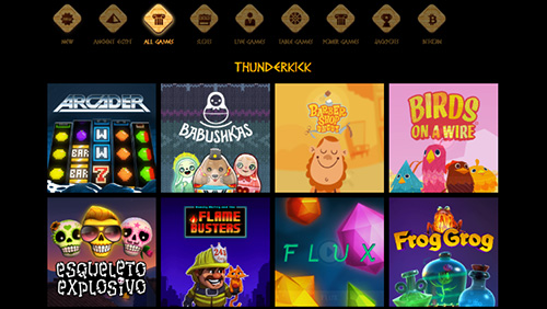 Thunderkick online slots now available at Cleopatra Online Casino