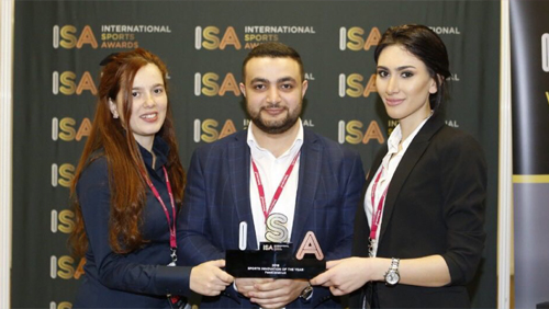 Friendship Platform recognized as sports innovation at ISA