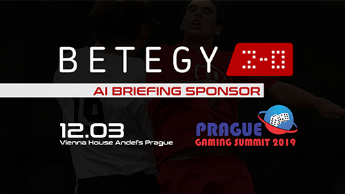 BETEGY announced as AI BRIEFING SPONSOR at Prague Gaming Summit 3