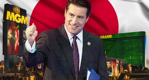 MGM Resorts hires Nevada ex-guv Sandoval for Japan, sports betting