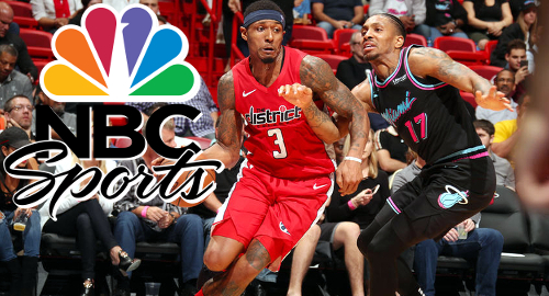 NBC Sports to air in-play betting-themed NBA broadcasts in DC