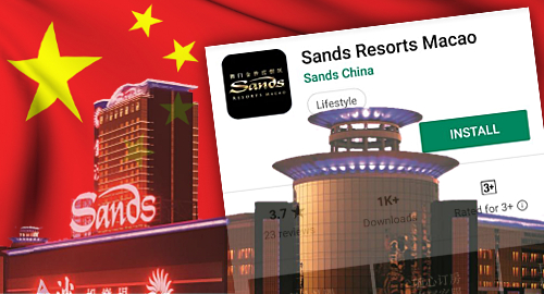 Sands China denies its app was hit with Beijing's ban-hammer