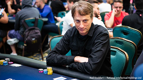 Tony Hawk's thoughts on preparation, practice and poker