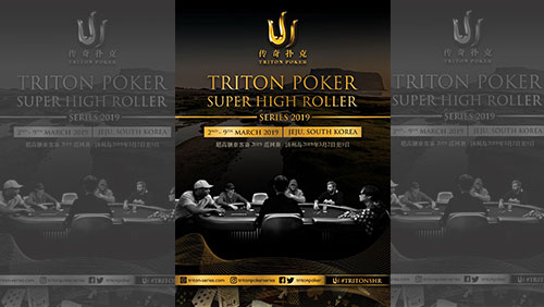 Triton Poker SHR Series returns to Jeju in March with six events