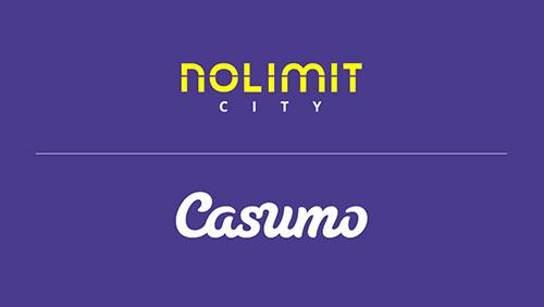 Casumo and Nolimit City celebrate content distribution deal