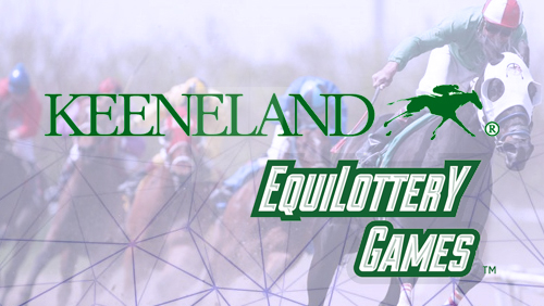 EquiLottery Games to feature Keeneland races during Kentucky Lottery trial of win place show