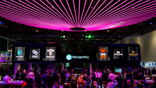 Microgaming gears up for Day 2 of ICE 2019