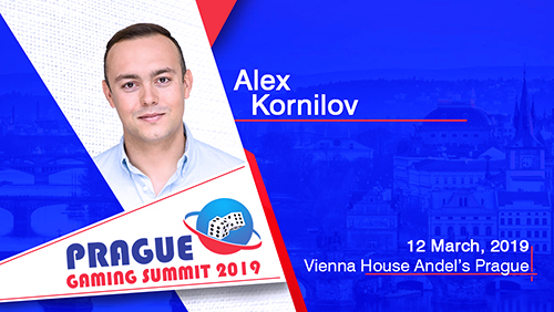 Use of Big Data with the help of AI in online and landbased sports betting solutions with Alex Kornilov (BETEGY) at Prague Gaming Summit 3