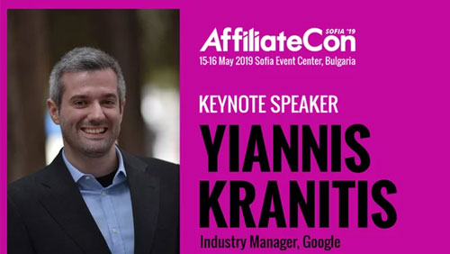 Google Manager joins illustrious speaker list for AffiliateCon Sofia 2019