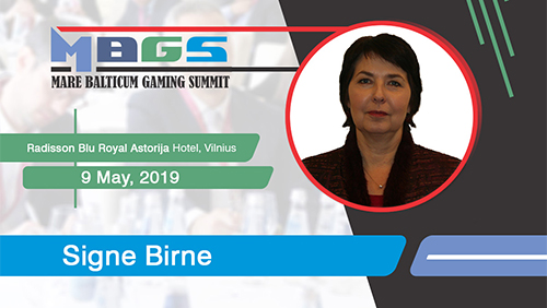 Latvian regulator, Mrs. Signe Birne, to join the speaker lineup at MARE BALTICUM Gaming Summit 2019 in Vilnius