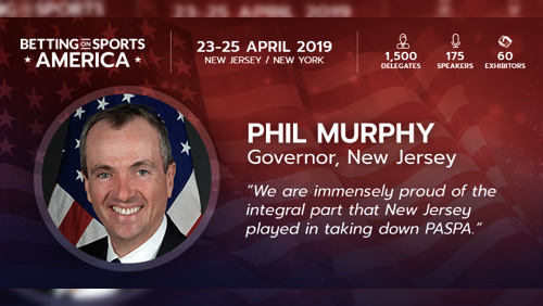 New Jersey Governor Murphy to deliver keynote address at Betting on Sports America Conference