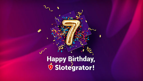 Slotegrator celebrates the 7th anniversary!