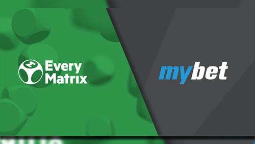 EveryMatrix powers the relaunch of Mybet brand