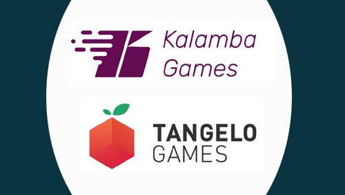 Kalamba Games live with Tangelo Games