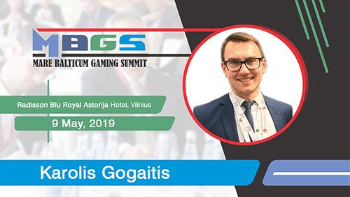 Karolis Gogaitis (General Manager at CBet.lt) to join the stellar speakers' list at MARE BALTICUM Gaming Summit 2019
