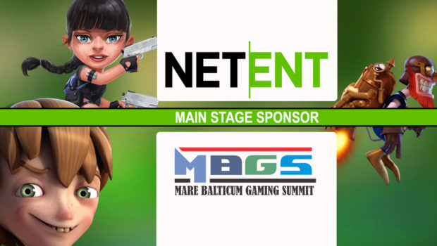 NetEnt announced as Main Stage Sponsor at MARE BALTICUM Gaming Summit 2019