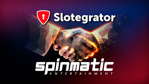 Slotegrator and Spinmatic new partnership