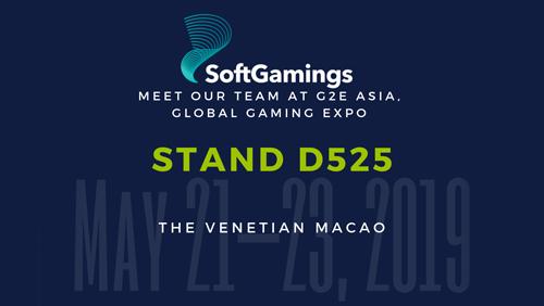 SoftGamings at G2E Asia 2019