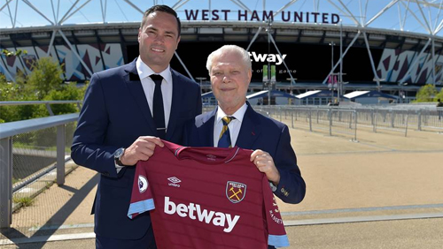 Betway renews partnership with Hammers